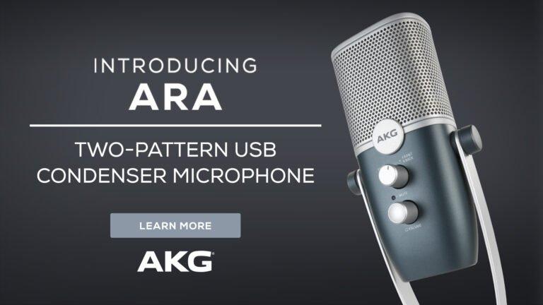 BJs Sound & Lighting - AKG ARA 1920x1080